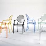 Silla Louis Ghost de Kartell diseño Philippe Starck