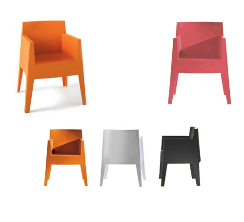 Silla toy driade un icono de starck chill out - Silla philippe starck ...