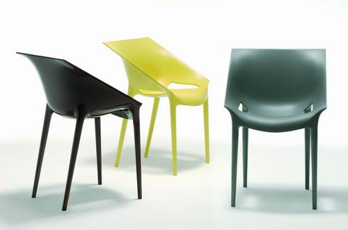 Silla dr yes dise o de philippe starck para kartell - Silla philippe starck ...